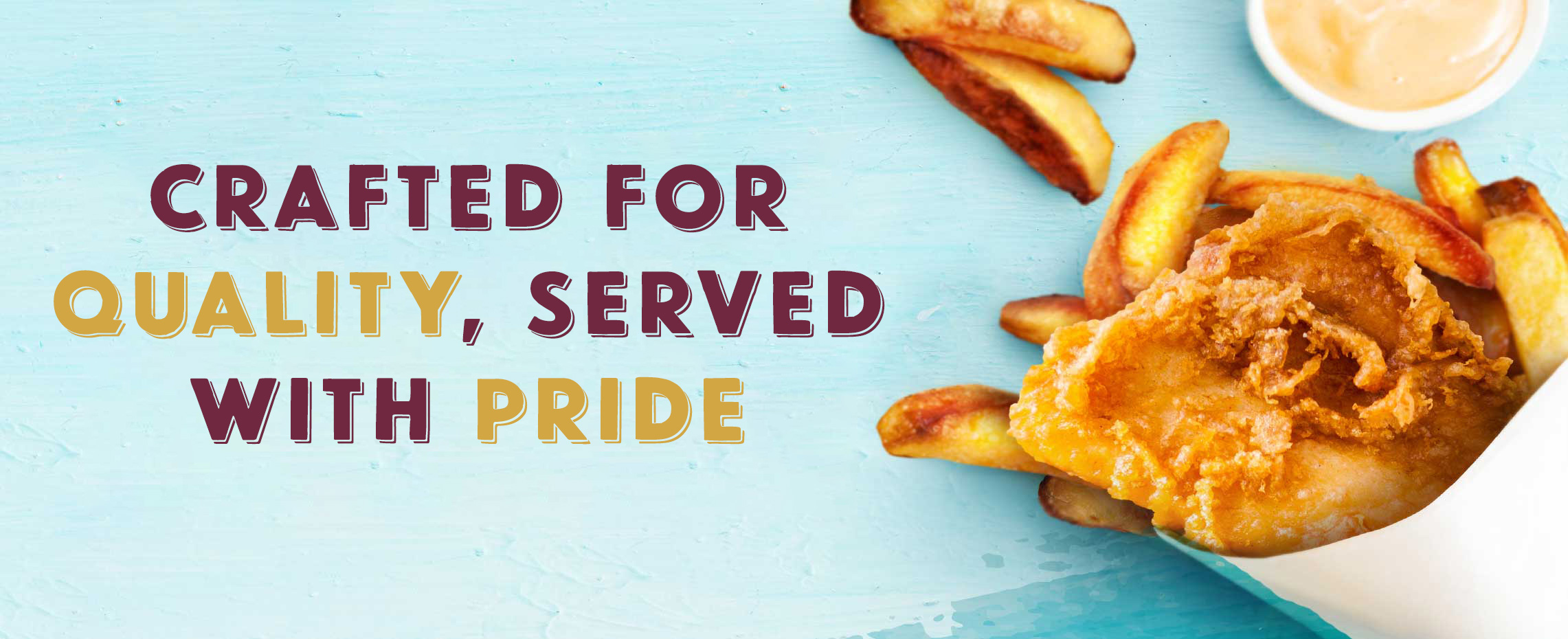 Switch to Sarson's - Proud to Serve Quality Fish and Chips Shops of Great Britain - The Choice of 9 out of 10 Fish and Chips Shops