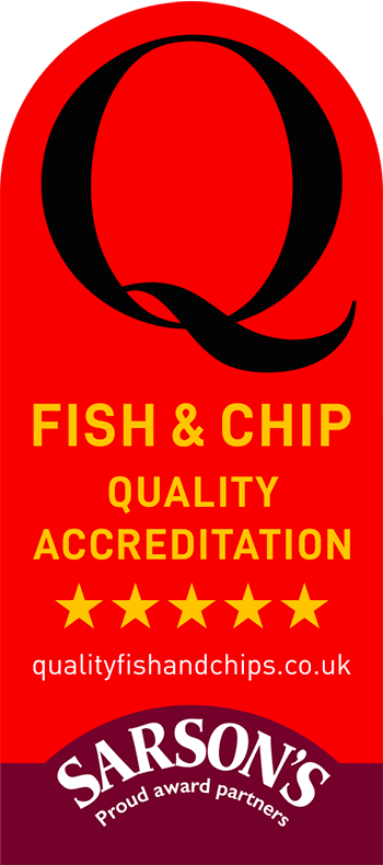 Switch to Sarson's - Sarsons Q Awards - Fish and Chip Shop Quality Accreditation